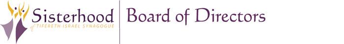 Sisterhood Board of Directors