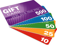 Donate While You Shop: Use Gift Cards